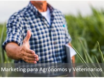 Marketing para Agónomos y Veterinarios